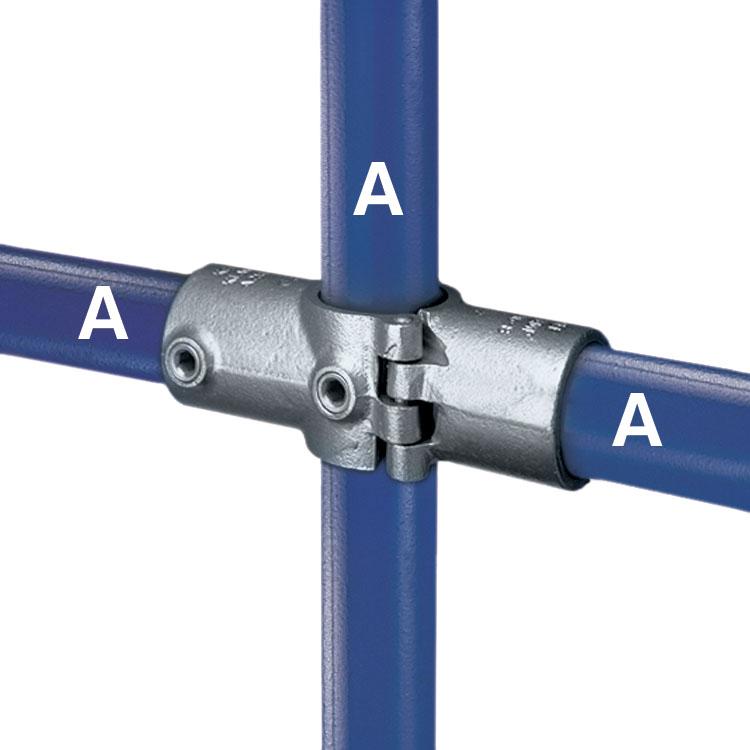 A21/26 - Split Two Socket Cross-1219