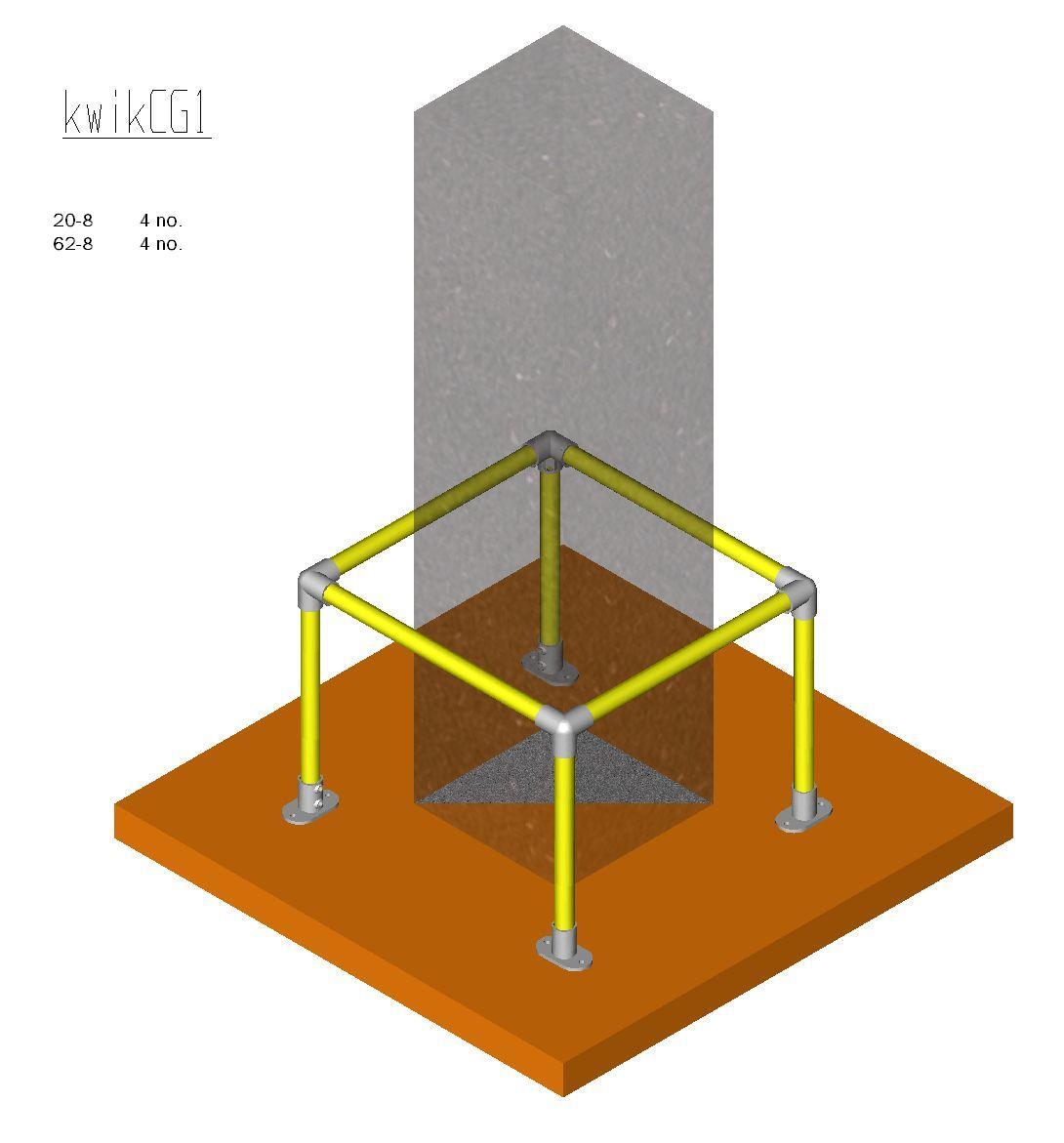 Column Guard Kit - KWIKCG1-0