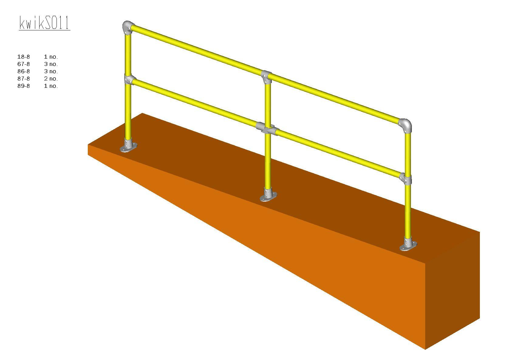 Kwik Kit Steel Ramp Kit 0 – 11˚-0