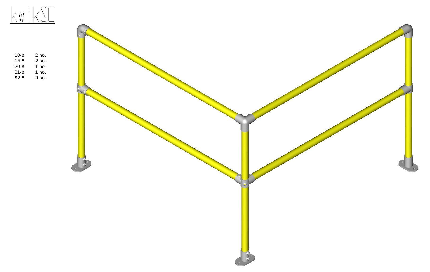 Kwik Kit Steel Corner Kit-0