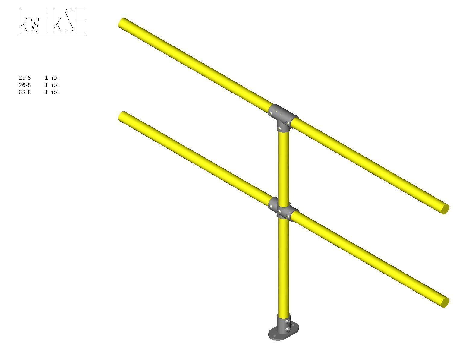 Kwik Kit Steel Extension Kit-0