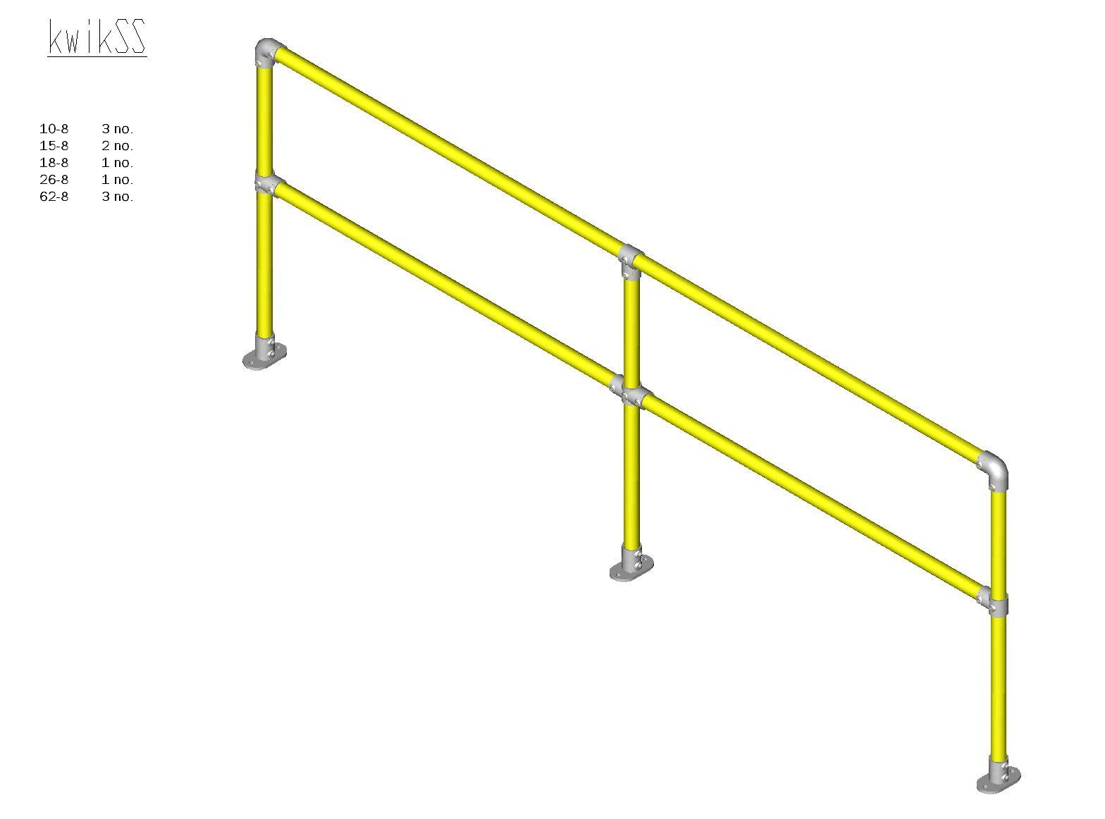 Kwik Kit Steel Straight Kit-0