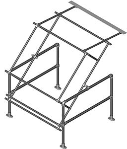 Type A Standard Model Pallet Gate -Galvanised-0