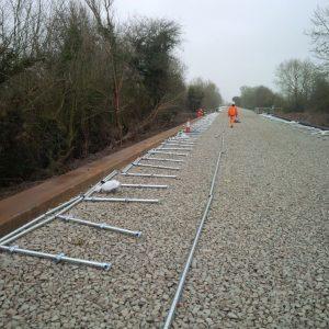 Kee Klamp Fittings Along East West Railway