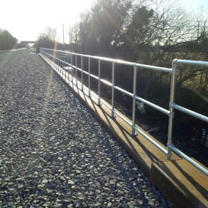 Kee Klamp Safety Barriers