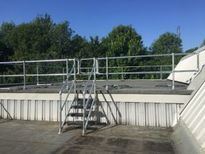 Rooftop Access Platform