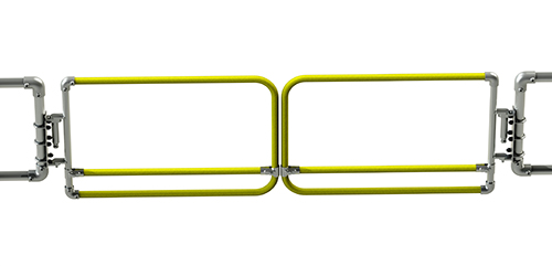 Powder Coated Double Width Safety Gate-1497