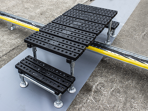 Mini Rooftop Step Over Platform