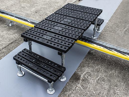 Mini Rooftop Step Over Platform