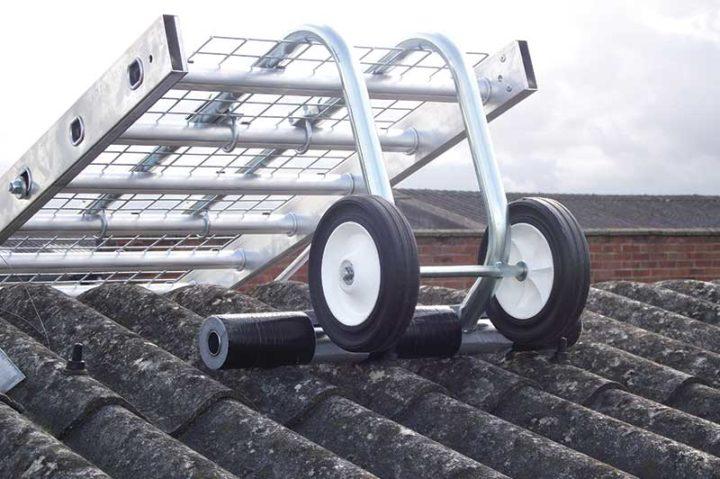 Ridge hook for Board-Walk fragile roof walkway systemRoof Board-Walk