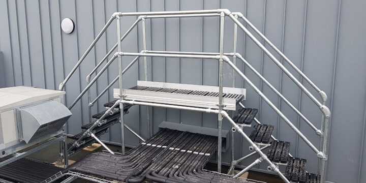 Safe Access Stepover Platform