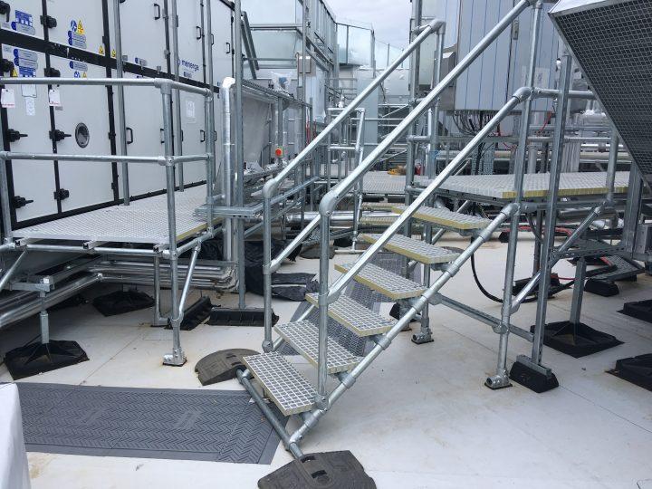 Stepover Platform