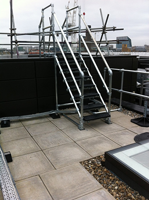 Access platforms for changes in level