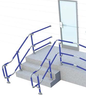 DDA Handrails for Stairways