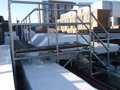 Bespoke Safe Access Platforms and Step Overs