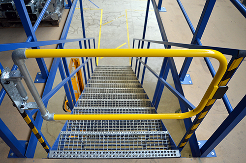 Industrial Spring Loaded Safety Gate
