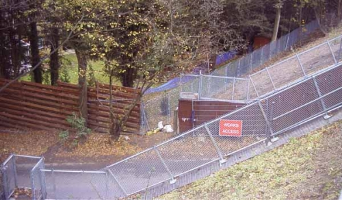 Preventing unauthorised access to tracks