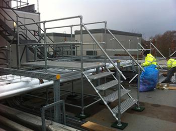 Kee Klamp access platforms