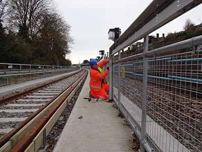 Protecing railway maintenance teams
