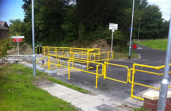 railway safety gates
