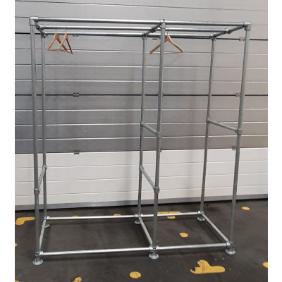 Freestanding Industrial Wardrobe