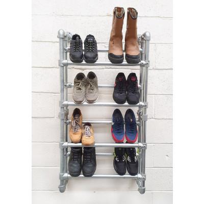 Industrial heavy duty shoe rack